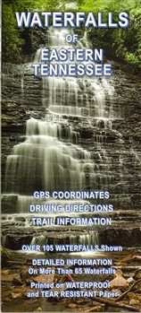 Waterfalls of Eastern Tennessee MAP