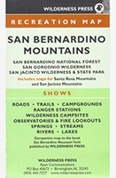 Recreation Map of San Bernardino Mountains