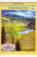 Yellowstone National Park Hiking Map and Guide