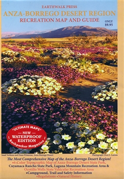 Anza-Borrego Desert Region Recreation Map and Guide