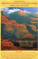 Grand Canyon National Park Hiking Map and Guide