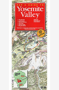 Map & Guide to Yosemite Valley