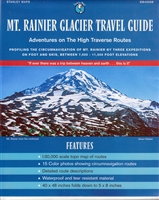 Mt. Rainier Glacier Travel Guide from Stanley Maps
