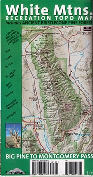 White Mountains Recreation  Topo Map