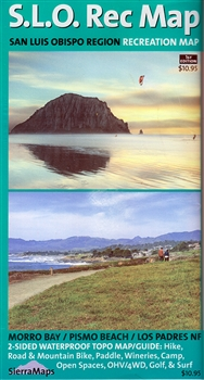 San Luis Obispo Region Recreation Map