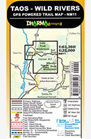 Taos Wild Rivers Map