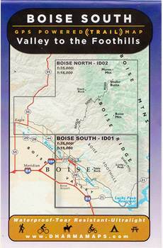 Boise Map; Valley to the Foothills