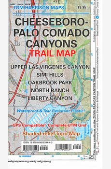 Cheeseboro - Palo Comado Canyons Trail Map