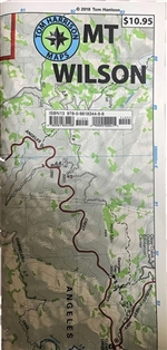 Tom Harrison Mt. Wilson Trail Map