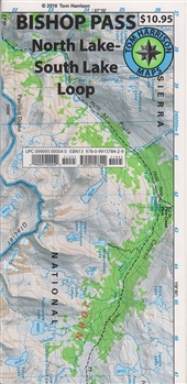 Bishop Pass Map-Tom Harrison
