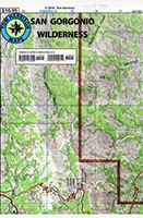 San Gorgonio Wilderness Trail Map, 2nd edition