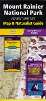 Mount Rainier National Park Adventure Set; Map and Naturalist Guide