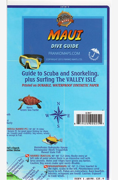 Franko's Map of MAUI: Dive Guide