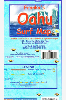 Franko's Oahu Surf Map