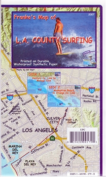 L.A. County Surfing Map