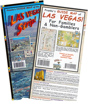 Franko's Guide Map of the Las Vegas Strip