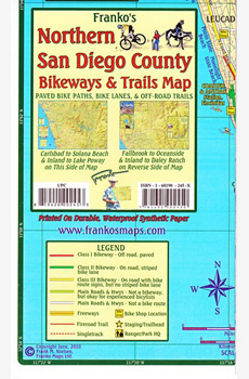 Northern San Diego County Trails Map