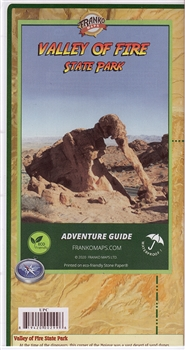 Valley of Fire State Park - Map