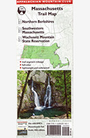 AMC map; Massachusetts Trail Map (4 - 5)