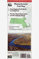 AMC map; Massachusetts Trail Map (1,2,3)