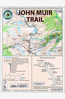 John Muir Trail Maps - Tom Harrison