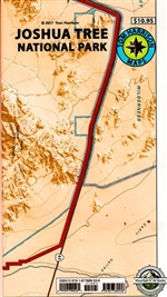 Tom Harrison's Joshua Tree Map