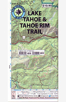 Tom Harrison's Lake Tahoe Map