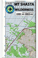 Mt Shasta Wilderness Map - Tom Harrison