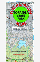 Topanga State Park Trail Map