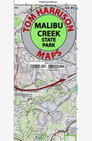 Malibu Creek Trail Map - Tom Harrison