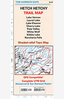 Tom Harrison's Hetch Hetchy Trail Map