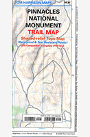 Pinnacles Monument Trail Map