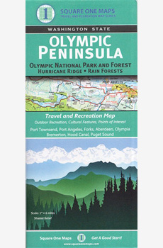 Olympic Peninsula Map