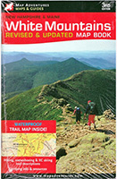 White Mountains of New Hampshire and Maine Guidebook and map