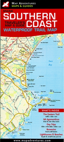 Map Of Southern Maine Map  Southern Maine Coast