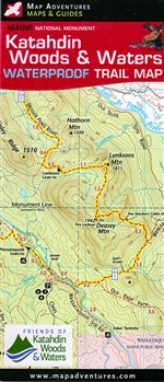 Map- Katahdin Woods & Waters National Monument