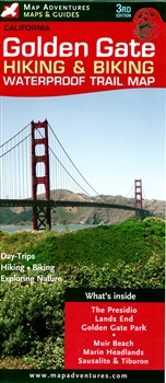 Map- Golden Gate Hiking & Biking Trail Map 3rd edition