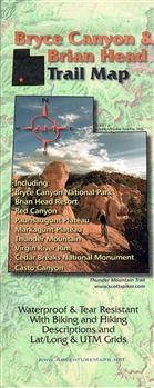 Bryce Canyon & Brian Head Trail Map
