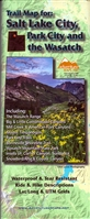 Salt Lake City, Park City and The Wasatch Trail Map
