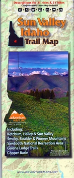 Map- Sun Valley Idaho Trail Map