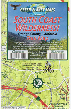Franko's Trail Map of the South Coast Wilderness