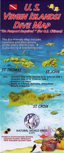 British Virgin Islands Dive Map Dive Spots Points Of Interest