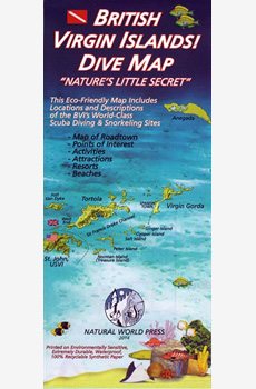 British Virgin Islands! DIVE Map
