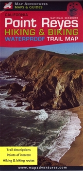 Point Reyes Hiking & Biking Trail Map