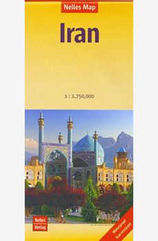 Map- IRAN Travel Map (Nelles 2015)