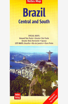Nelles Map Brazil Central and South