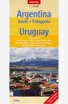 Argentina, all Patagonia plus Uruguay