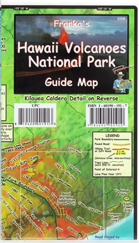 Map- Hawaii Volcanoes National Park