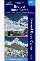 Everest Base Camp Map