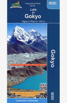 Map- Lukla to Gokyo